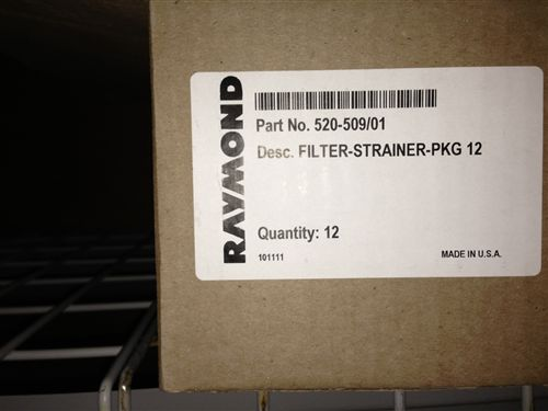 Raymond Forklift Hydraulic Filter 520-509/01 Case of 12